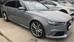 Audi RS6 Before