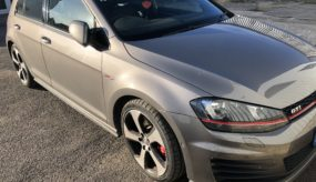 VW Golf GTi – 2013 Before pictures
